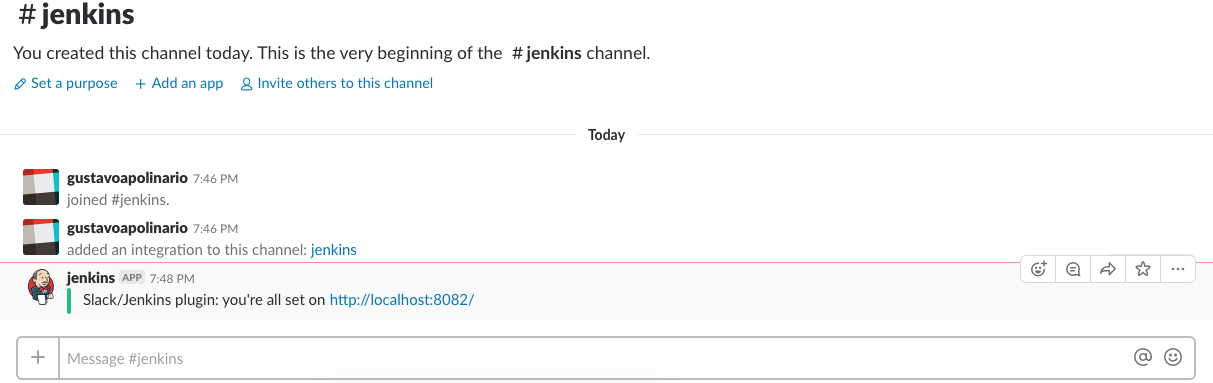 Jenkins and Slack Integration - ConDevOps